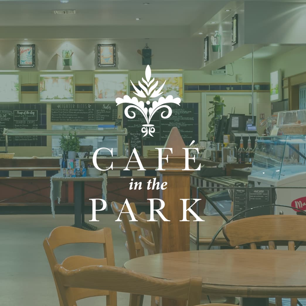 hospitality services cafe in the park